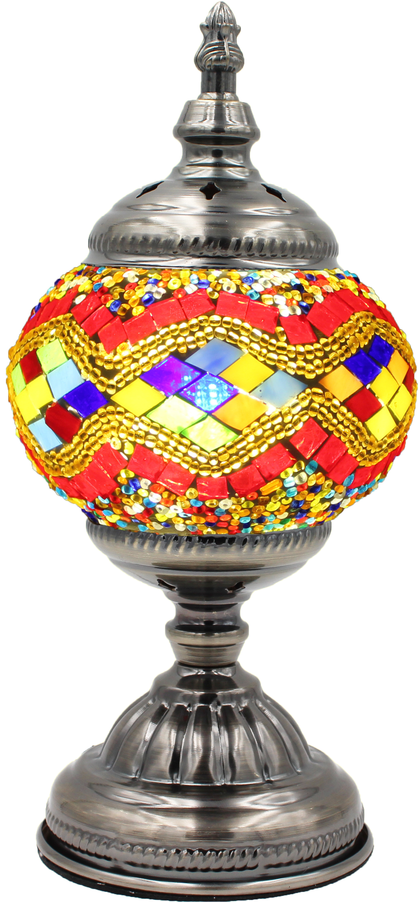 Hand Made Mosaic Glass Lamp - Without Bulb (001)