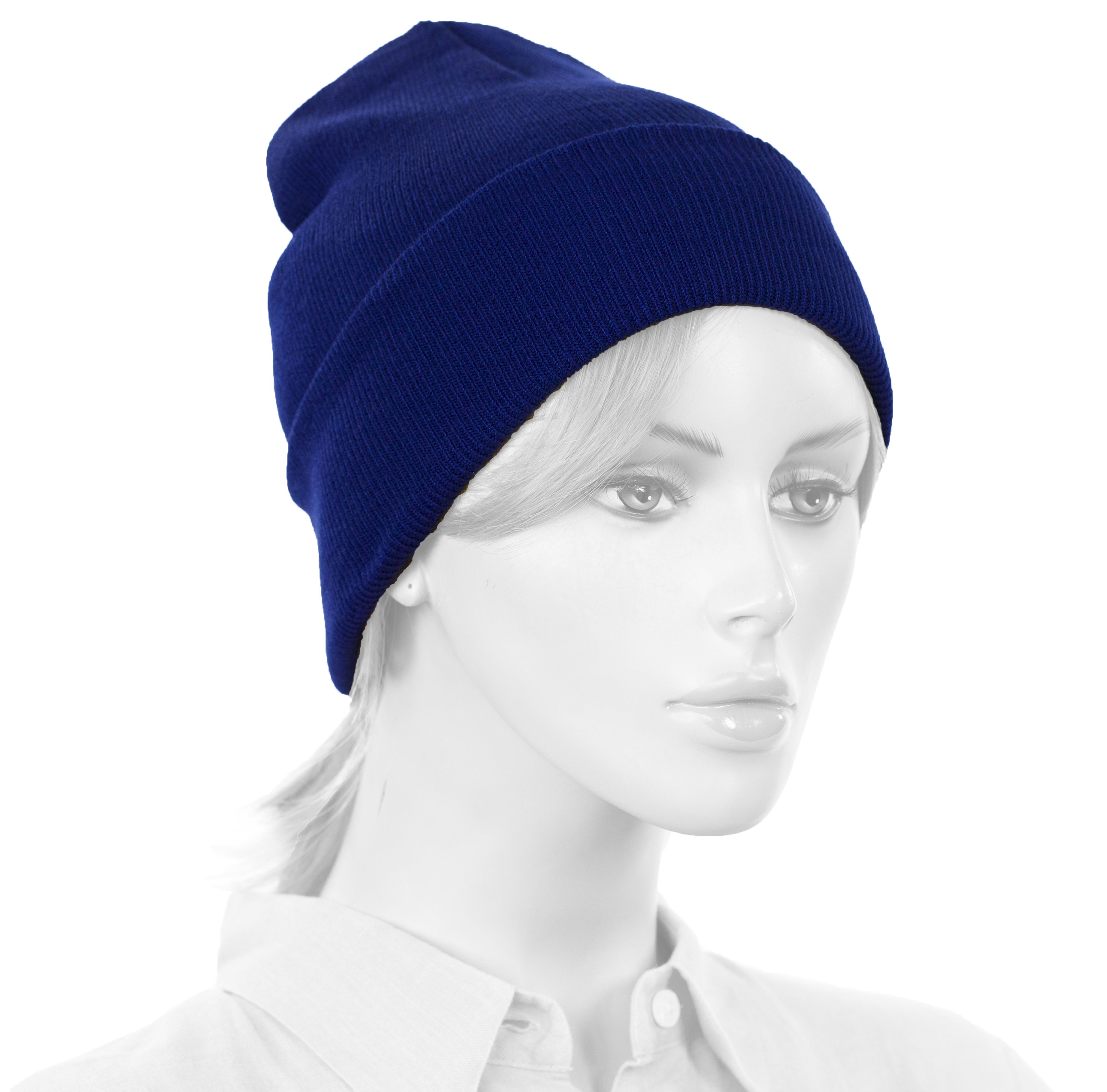 Royal Blue Beanie (003)