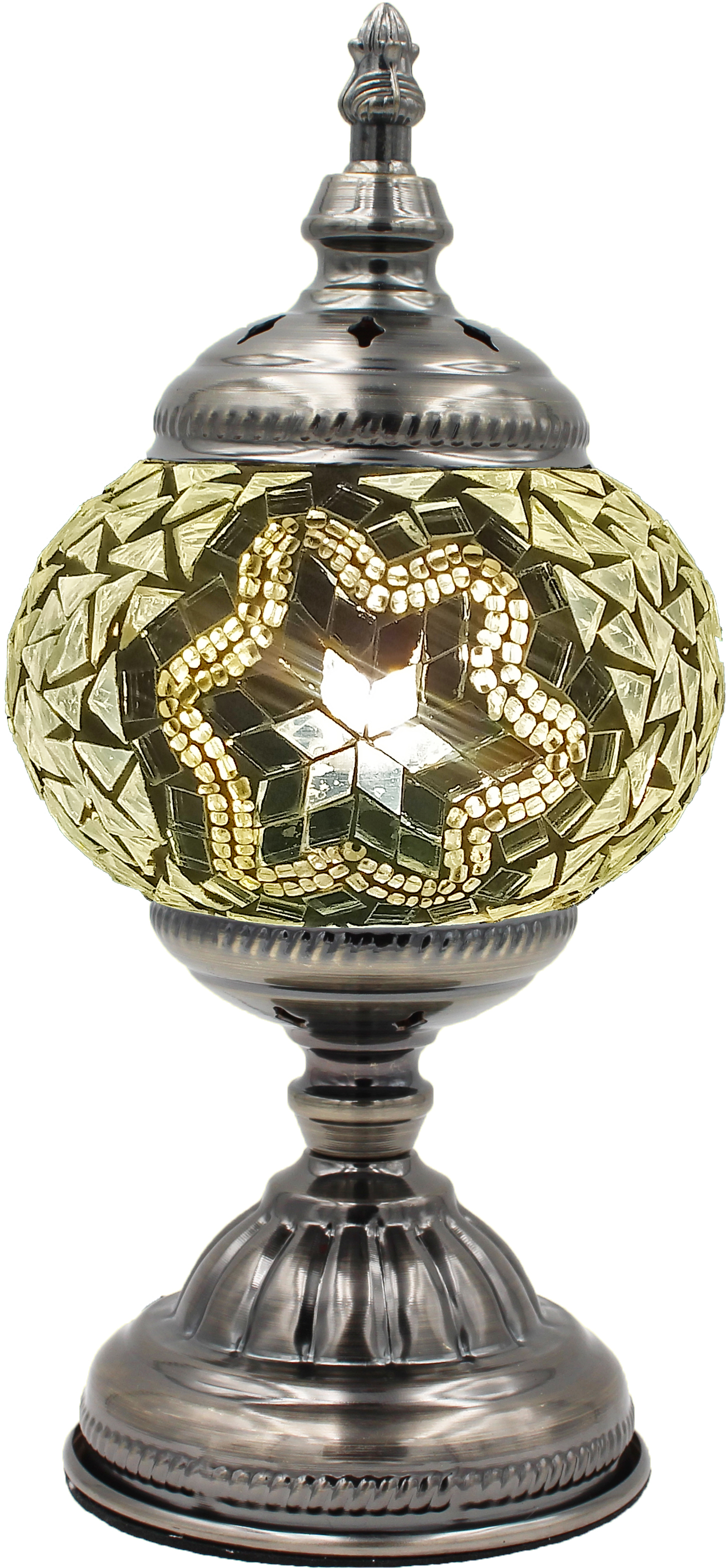 MOSAIC GLASS LAMP 008 ( WITHOUT BULB )