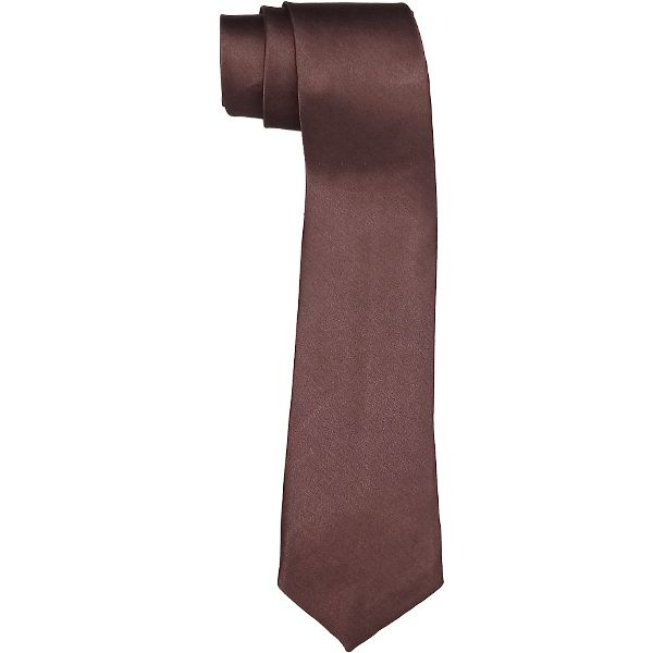 TIE 010 Brown Slim