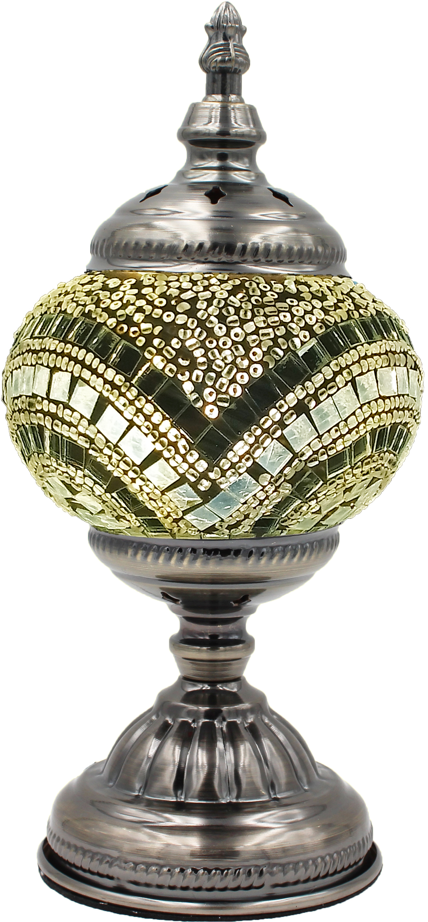 Hand Made Mosaic Glass Lamp - Without Bulb (011)