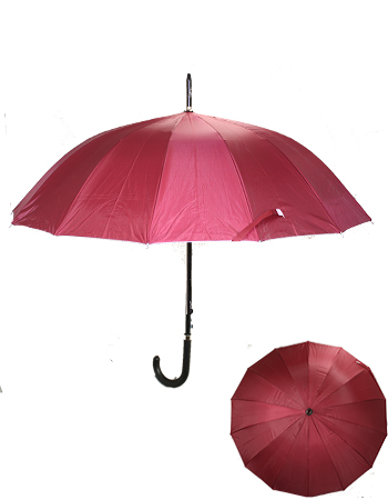 UMB 035 RED UMBRELLA