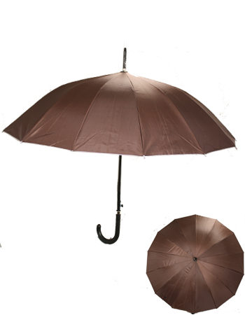 UMB 036 BROWN UMBRELLA