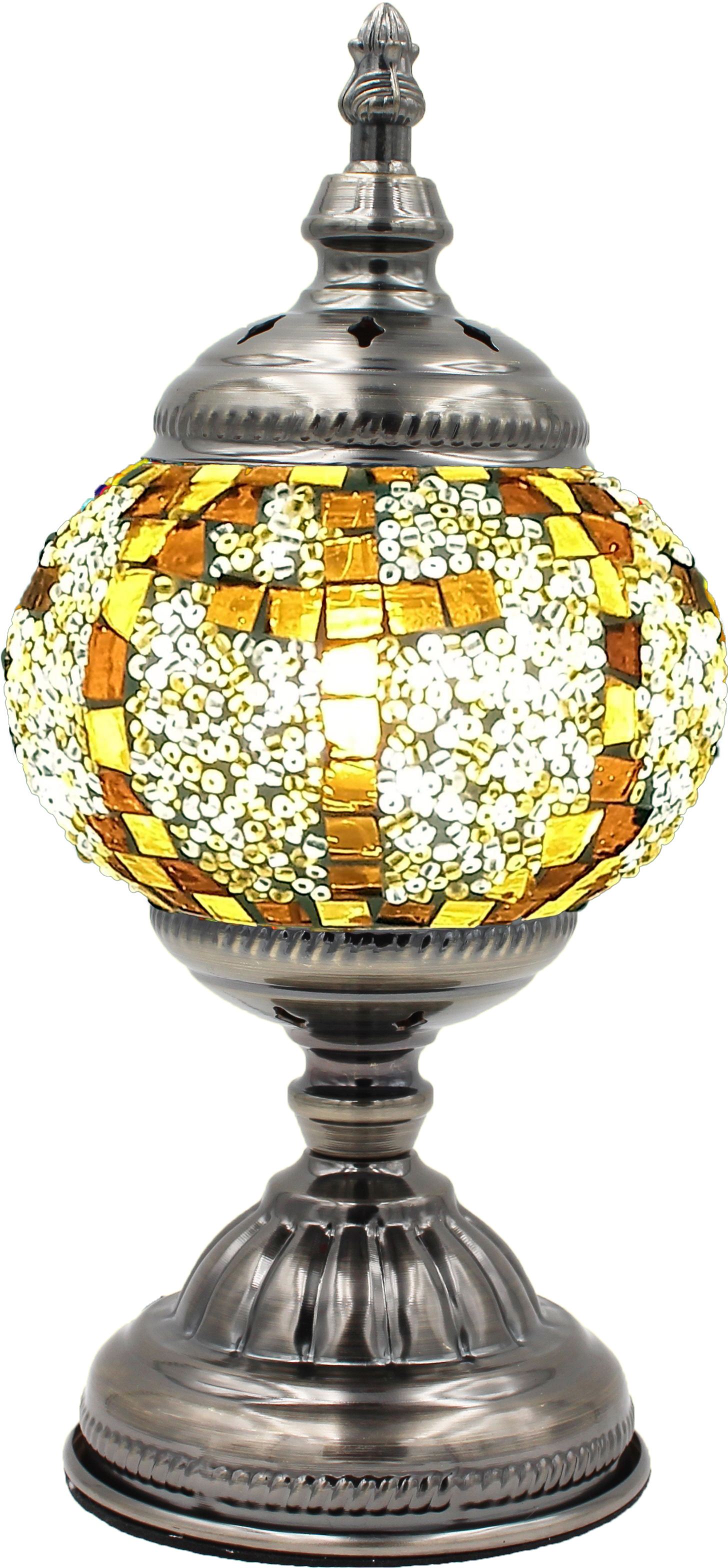MOSAIC GLASS LAMP 036 ( WITHOUT BULB )