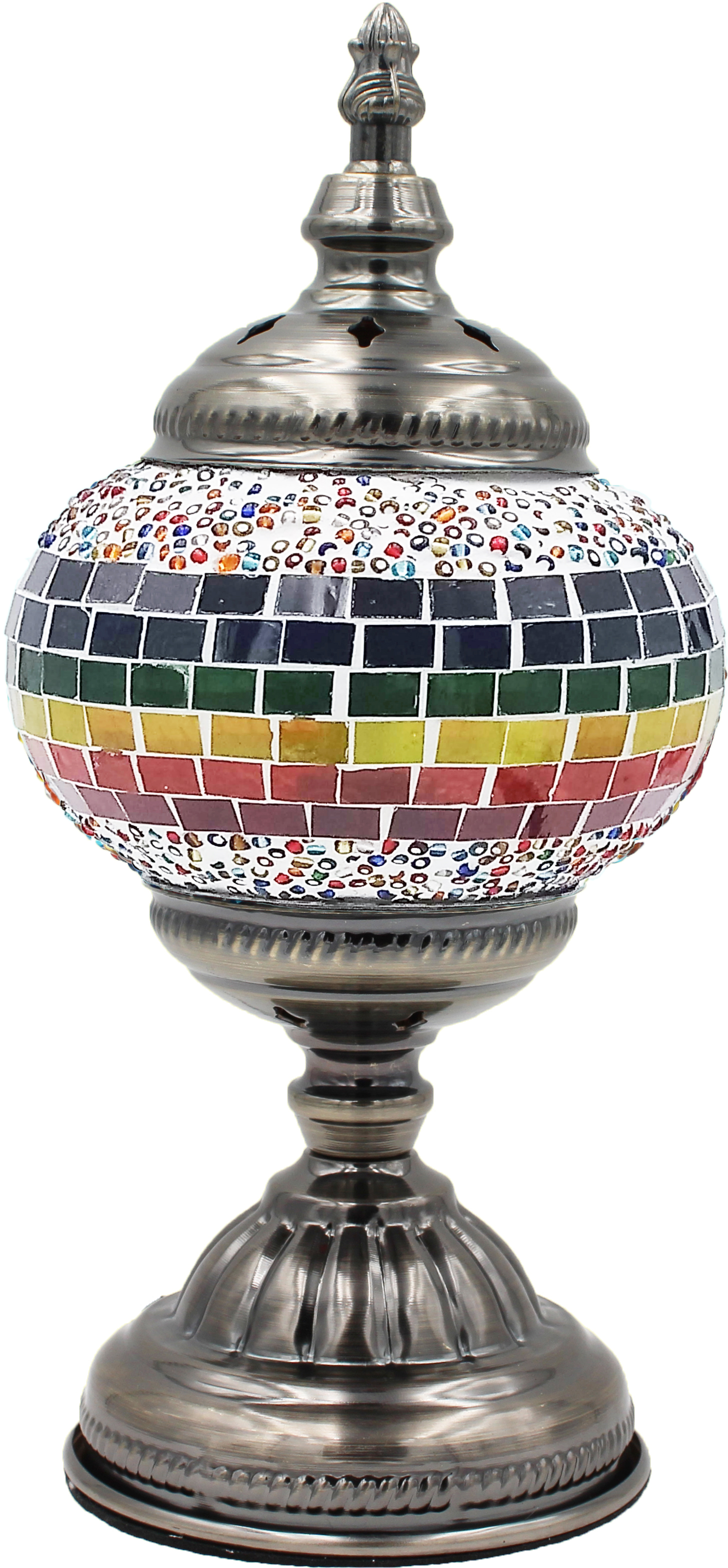 MOSAIC GLASS LAMP 037 ( WITHOUT BULB )