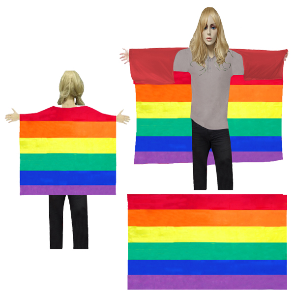 BESE 250 WEARABLE RAINBOW FLAG