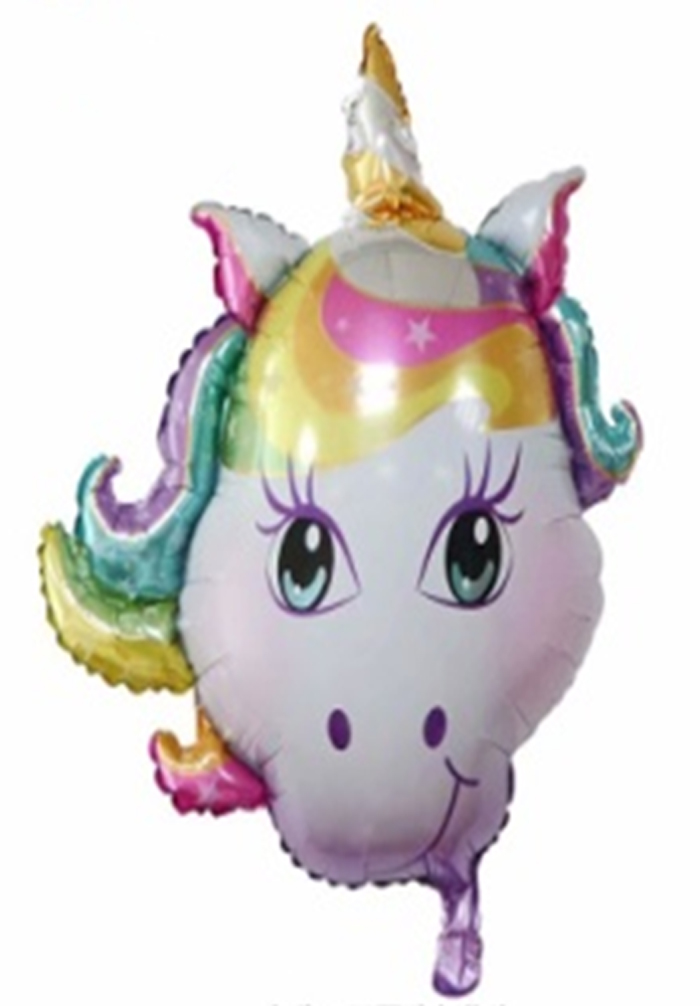 Unicorn Head Flying Balloon (131)