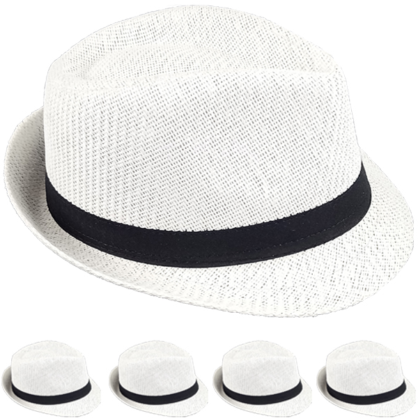 FEDORA HAT 201 ONE COLOR