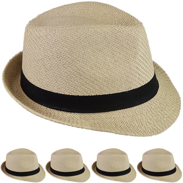 FEDORA HAT 203 ONE COLOR