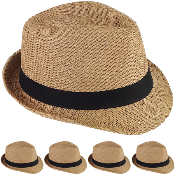 FEDORA HAT 204 ONE COLOR