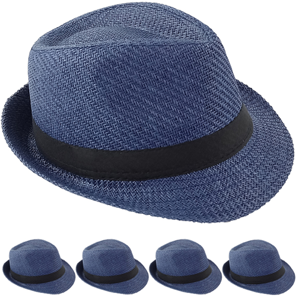 FEDORA HAT 207 ONE COLOR