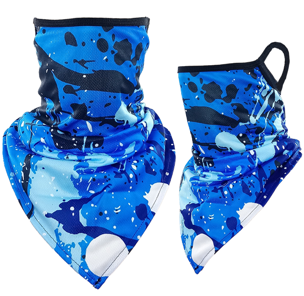 Paint Print Triangle Face Shield (220)