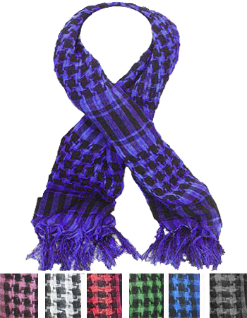 SCARF AB 251 PALESTINE SCARVES MIX COLOR