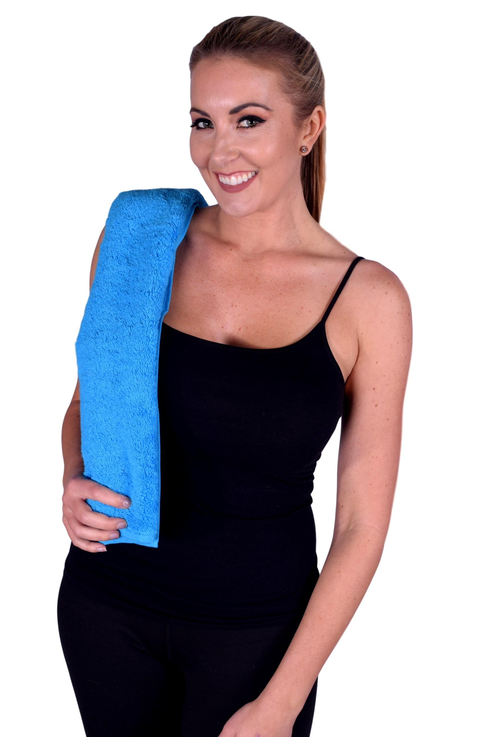 Towel 051 Aqua Color Hand Towel