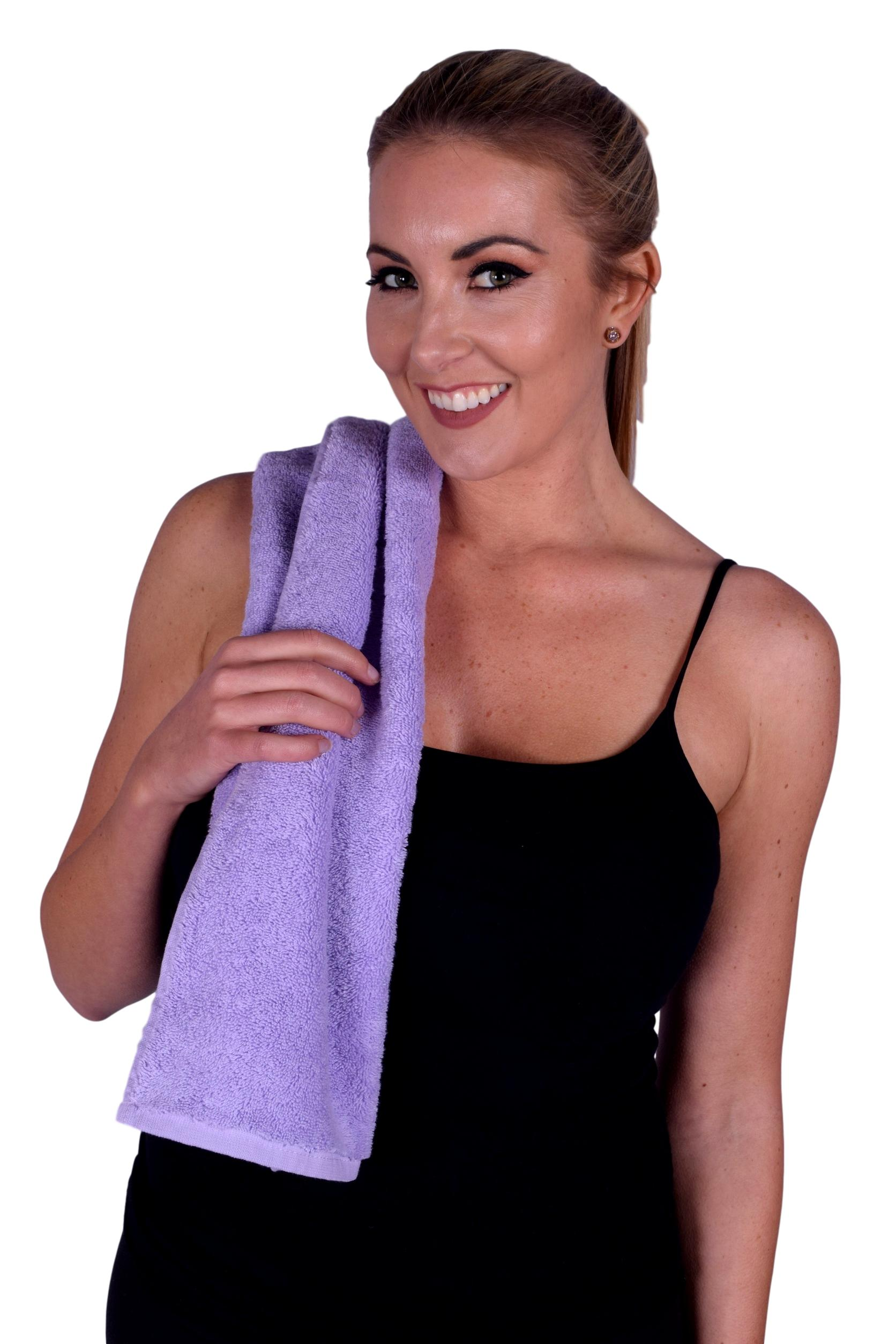 Towel 054 Lavender Color Hand Towel