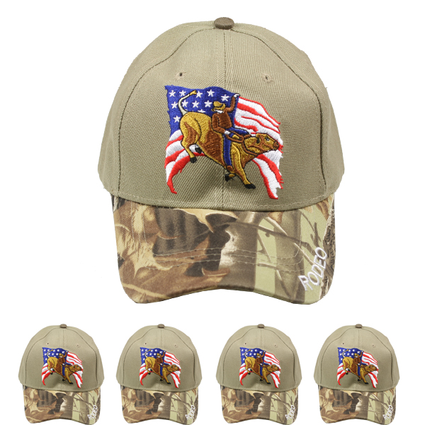 Rodeo Camouflage Cap (052)