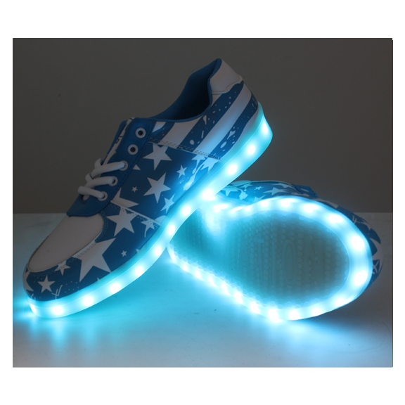 SHOES 015 LED SHOES KIDS MIX SIZE ( 6 PAIRS )