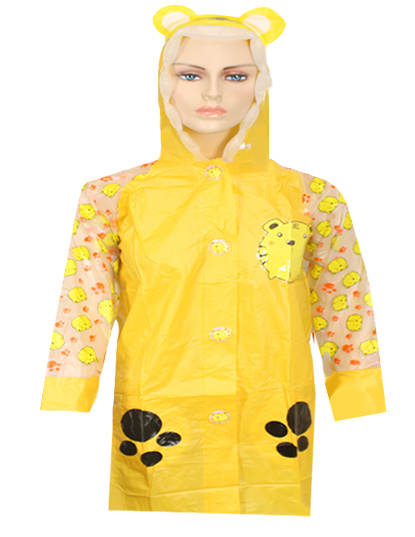 UMB 053 KID RAIN COAT ( MIXED SIZES 3 PCS  )