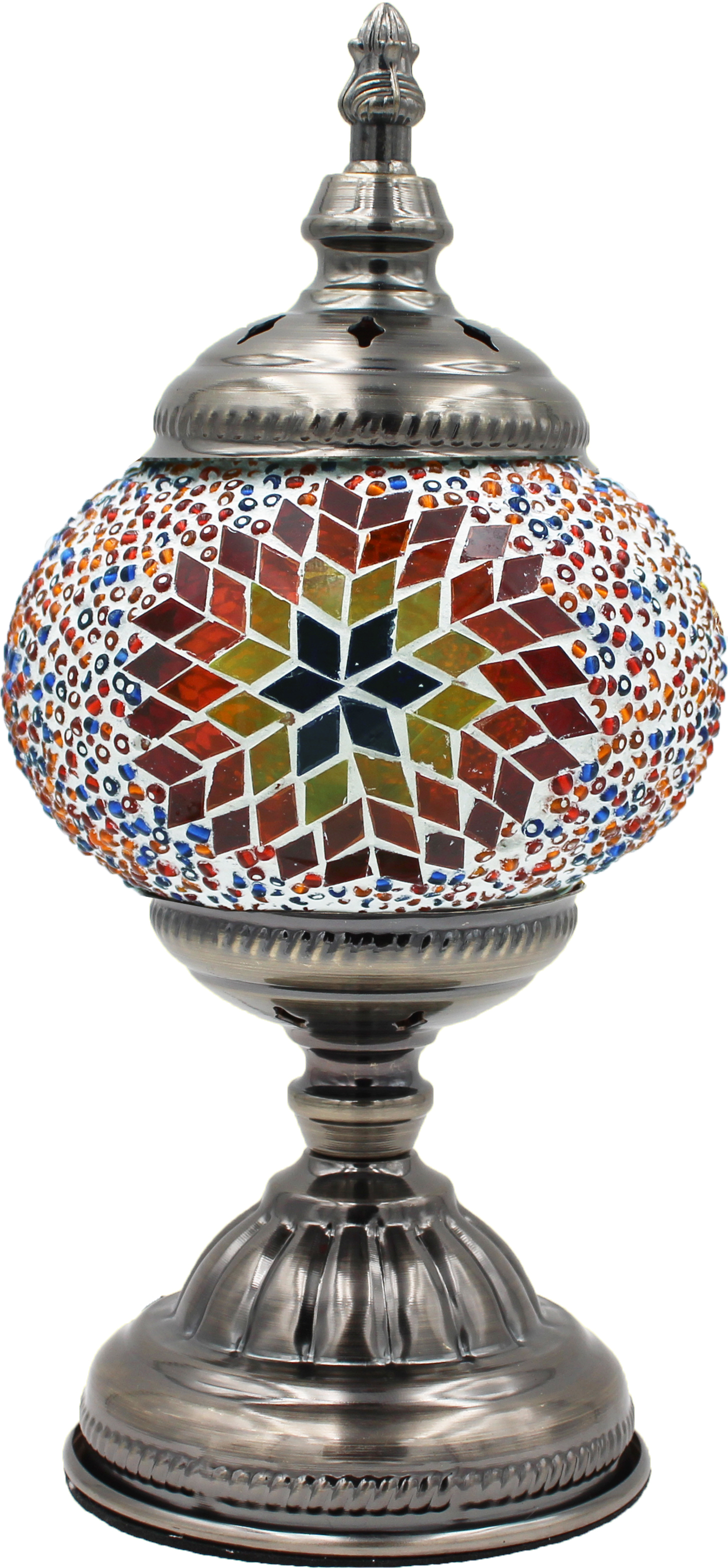 MOSAIC GLASS LAMP 002 ( WITHOUT BULB )