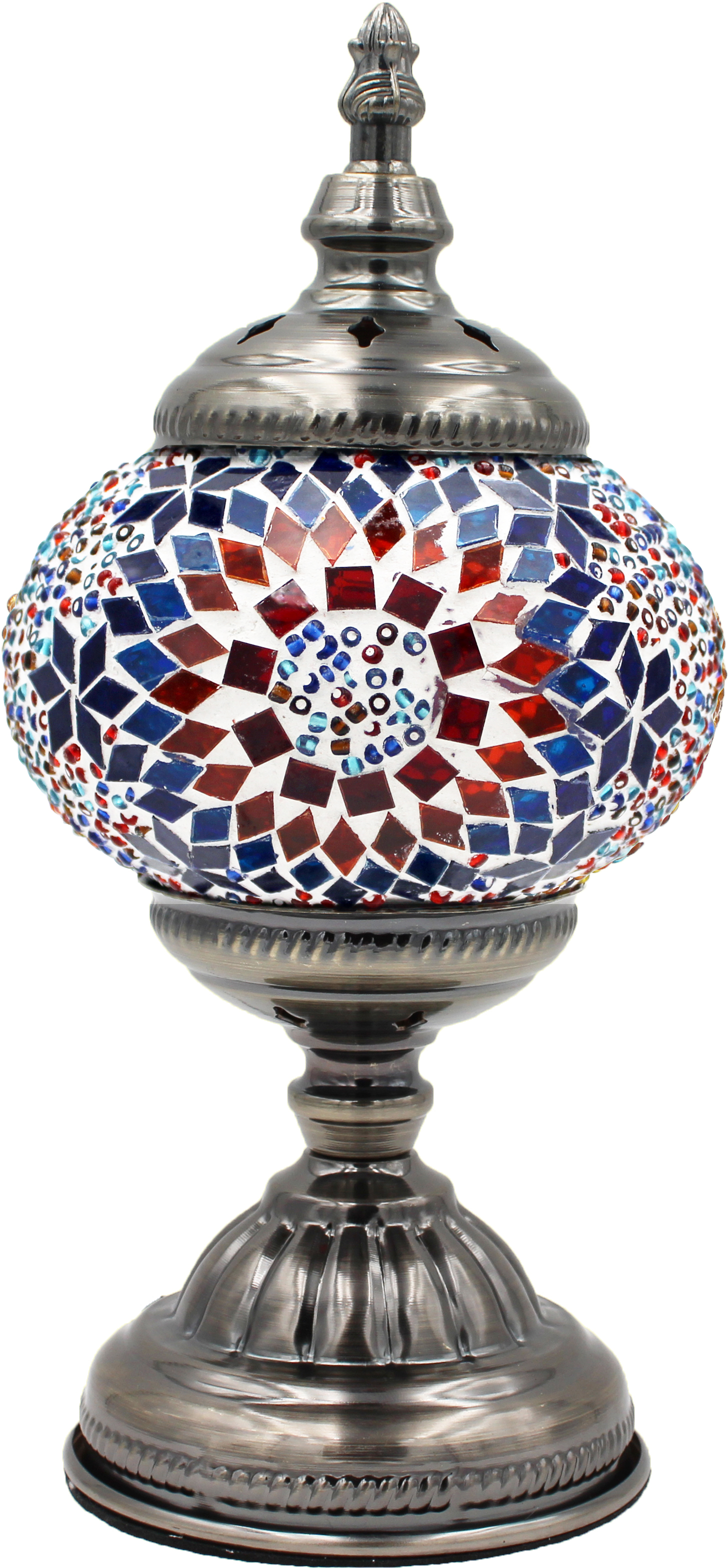 MOSAIC GLASS LAMP 004 ( WITHOUT BULB )