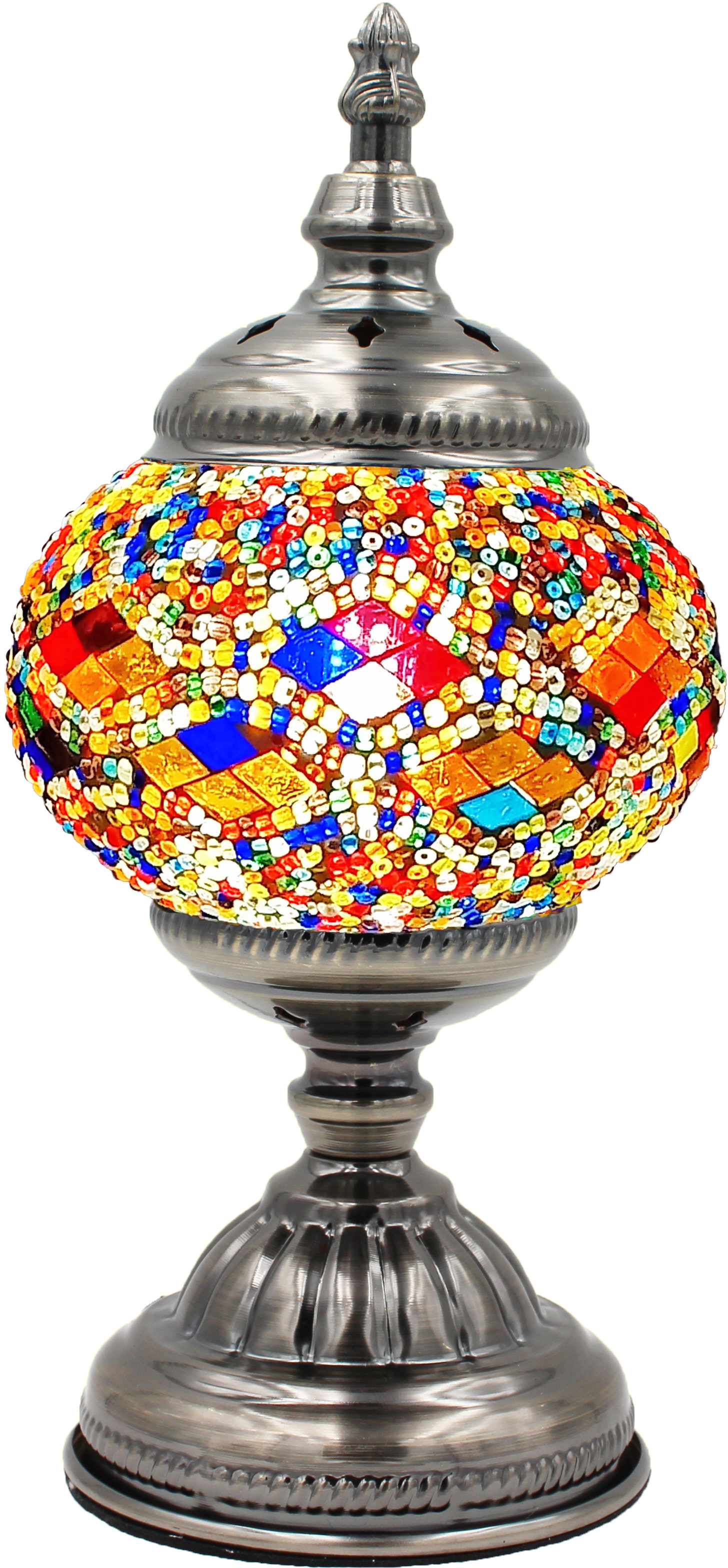 MOSAIC GLASS LAMP 010 ( WITHOUT BULB )