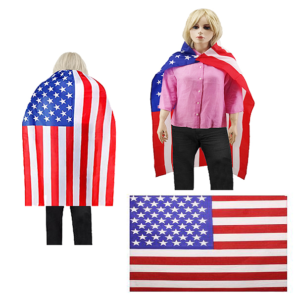 BESE 253 WEARABLE AMERICAN CAPE