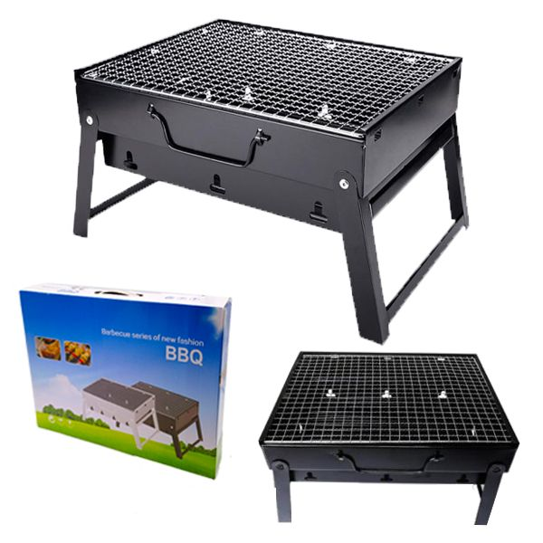 GEN 026 PORTABLE GRILL BLACK LARGE