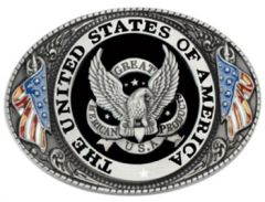 The United State Of America Seal Belt Buckle (FL 010)