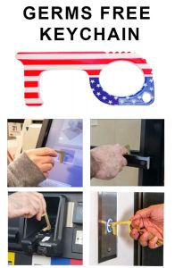 Hot Seller 102 American Flag Keychain