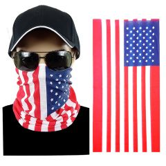 USA Flag Multi-function Seamless Tube Bandana (301)