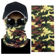 Camouflage Multi-function Seamless Tube Bandana (304)