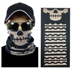 Skull Multi-function Seamless Tube Bandana (308)