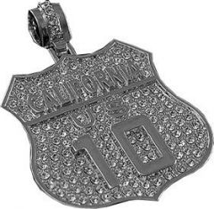 AB 009 S Pendant Dog Tag