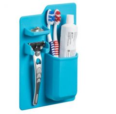 Blue Mighty Toothbrush Silicone Holder (112)