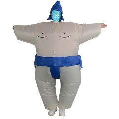 Sumo Inflatable Costume Blow Up Costume for Halloween Cosplay Party (109)