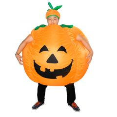 Pumpkin Inflatable Costume Blow Up Costume for Halloween Cosplay Party (102)