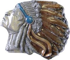 Arrowhead Belt Buckle (Mis Western 013)