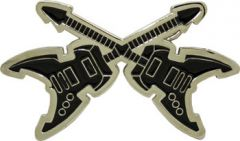 MUS 020 Guitar Belt Buckle