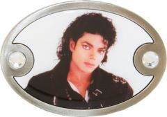 Mus 039 Michael Jackson Belt Buckle