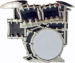 MUS 046 Drum Set Belt Buckle