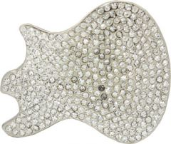 MUS 054 Guitar Head Belt Buckle