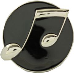 MUS 062 Music Note Belt Buckle