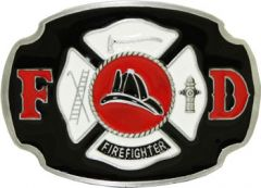 Fire Department Belt Buckle (Pro 058)