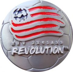 SPOR 154 New England Revolution Belt Buckle