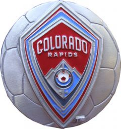 SPOR 159 Colorado Rapids Belt Buckle Soccer