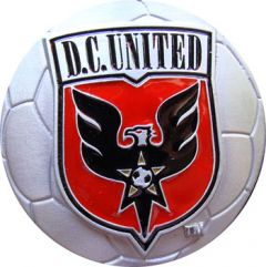 SPOR 162 DC United Soccer Belt Buckle