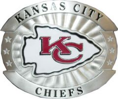 SPOR 236 Kansas City Chiefs Belt Buckle