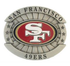 SPOR 241 San Francisco 49ers Belt Buckle