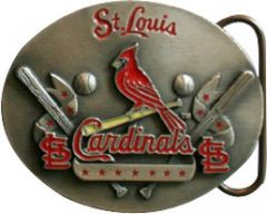 SPOR 307 St Louis Cardinals Belt Buckle