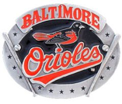 SPOR 308 Baltimore Orioles Belt Buckle